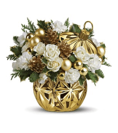 Have a Ball Christmas Bouquet
