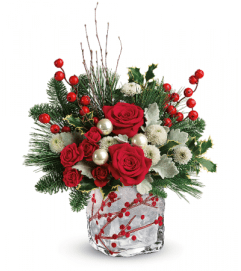 Winterberry Kisses by Teleflora