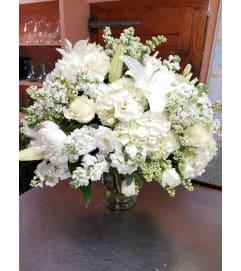 Heavenly White Bouquet