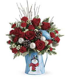Teleflora Snowy Daydreams Bouquet