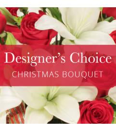 Florist choice Christmas bouquet