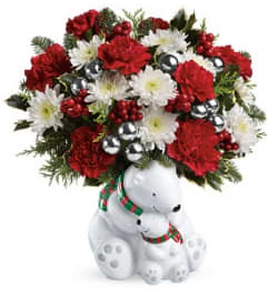 Cuddling Bears Bouquet