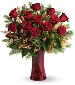 festive roses
