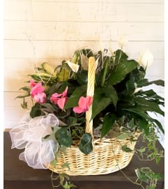 Winter Garden Basket
