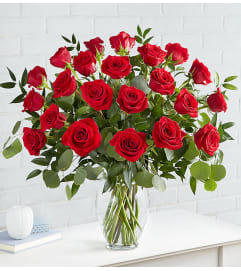 Heart's Desire Roses Two Dozen