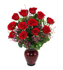 Deluxe Dozen Vase