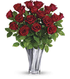 Flawless Romance Bouquet by Teleflora