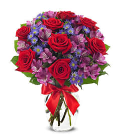 Sassy Rosy Bouquet