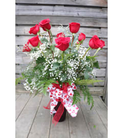 Long Stem Red Roses