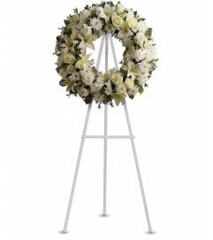Telefloras Serenity Wreath