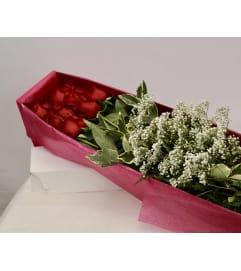 Dozen Premium Roses Gift Boxed