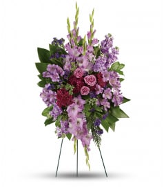 Lavender Reflections Spray by teleflora