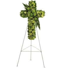 Garden Cross by Telefloras