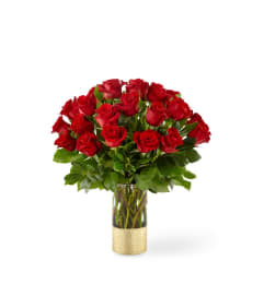 FTD® Gorgeous™ Red Rose Bouquet