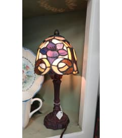 Purple Flower Memory Lamp