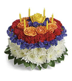 The Your Wish is Granted Birthday Bouquet Deluxe