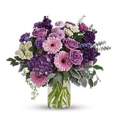 A Magnificent Mauves Bouquet