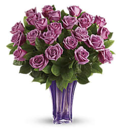 The Lavender Splendor Bouquet Two Dozen