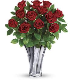 A Flawless Romance Bouquet One Dozen