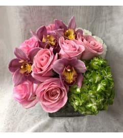 pink passion bouquet