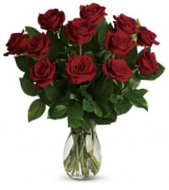 Teleflora My True Love Bouquet with Long Stemmed Roses