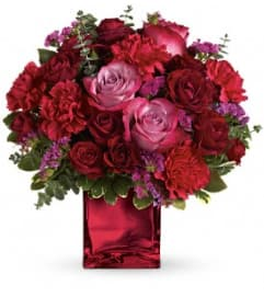 Teleflora Ruby Rapture Bouquet