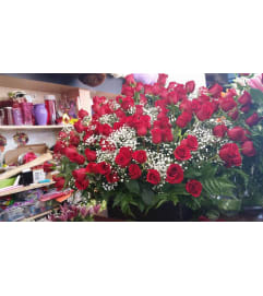 120 Red Rose Bouquet