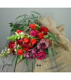 Farm Wrap Passion Burlap