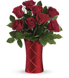 Crimson Luxury Rose Bouquet