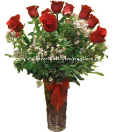 Dz. Long Stem Red Roses