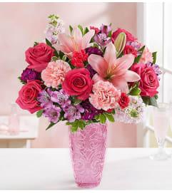 Sweethearts Medley Vase