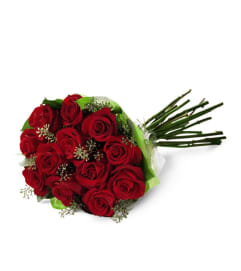 Dz. Wrapped Premium Red Roses