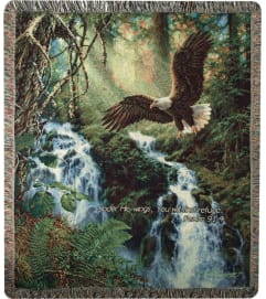 Tapestry Throw - Eagles Flight