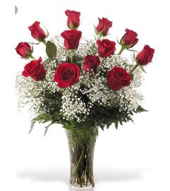 My Baby's One Dozen Red Roses