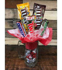 Chocolate Lovers Candy Bouquet