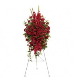 Teleflora's T270-1A  Deep In Our Hearts Spray