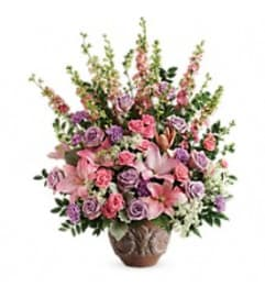 Teleflora's T279-3 Soft Blush Bouquet