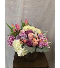 Lavender Garden Arrangment