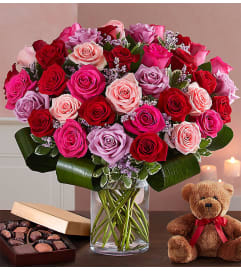 Lavish Love Bouquet 50 Roses