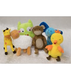 Assorted Plush Animal