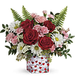 Teleflora Pop Hearts Bouquet