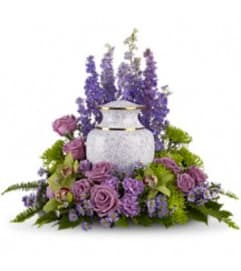 Teleflora's T250-1A - Meadows Of Memories Cremation Tribute