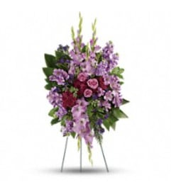 Teleflora's T235-6A - Lavender Reflectoins Spray