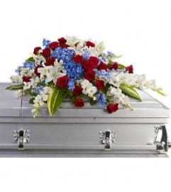 TRF240-3A Distingusihed Service Casket Spray