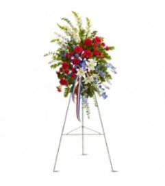 Teleflora's 240-2A Sacred Duty Spray