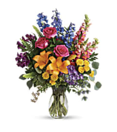 Teleflora's T282-9 Colors Of the Rainbow Bouquet