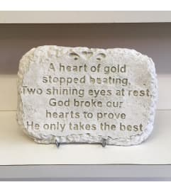 Heart Of Gold Stone