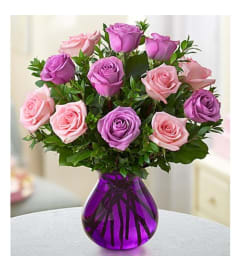 Lavender and Pink-Rose Romance