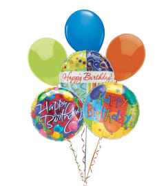 Balloon Bouquet-Happy Birthday
