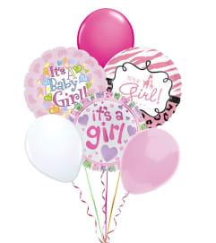 Balloon Bouquet-Baby Girl